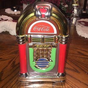 Coca Cola retro jukebox cookie jar